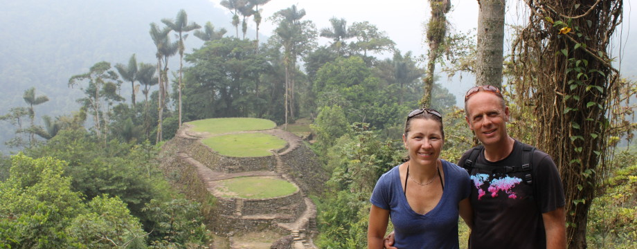 Marcher 43 km dans jungle colombienne